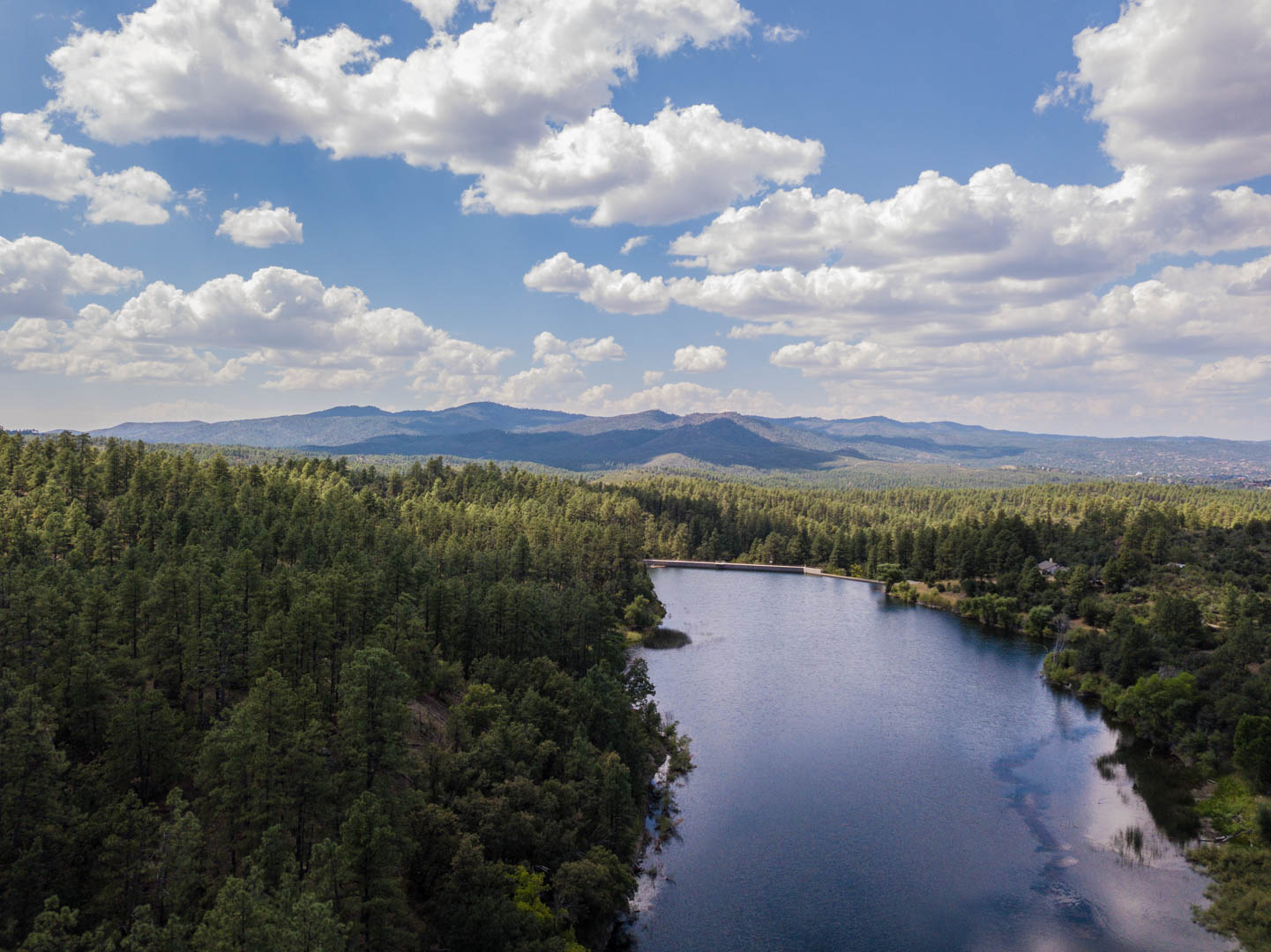 Upper Goldwater Lake offers many amenities, the lower lake does not Prescott Outdoor Recreation