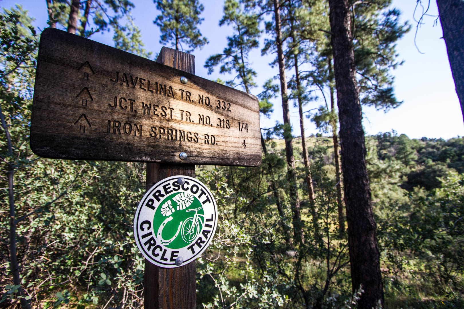 Prescott Arizona Recreation hiking trails mountain biking running outdoors