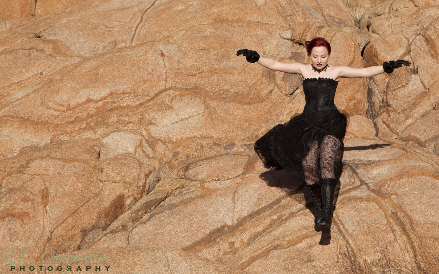 Outdoor Portrait Photography in the Granite Dells by Richard Charpentier