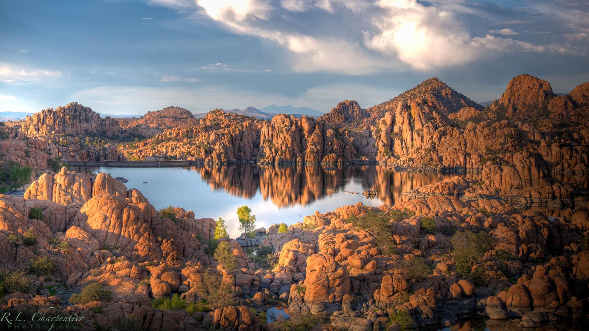 Watson Lake Park in the Granite Dells, Prescott Arizona