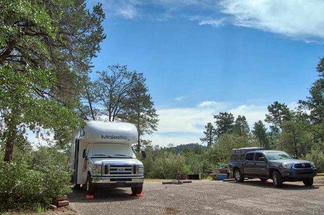 Granite Basin Yavapai Campground Prescott AZ