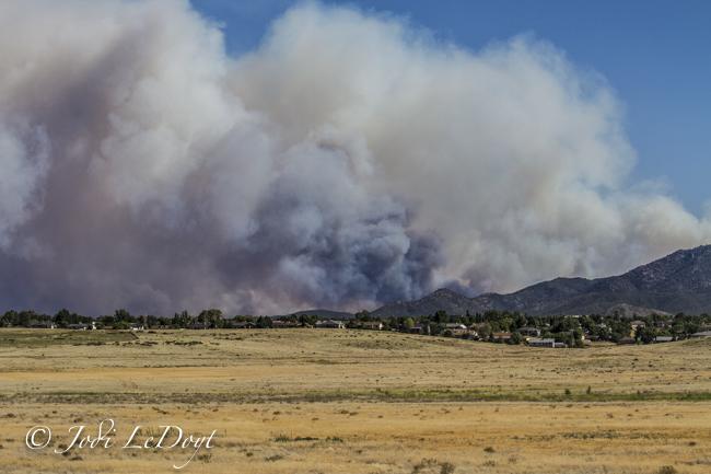 Prescott wildfire brushfire visit prescott