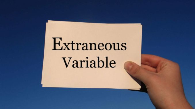Extraneous variable