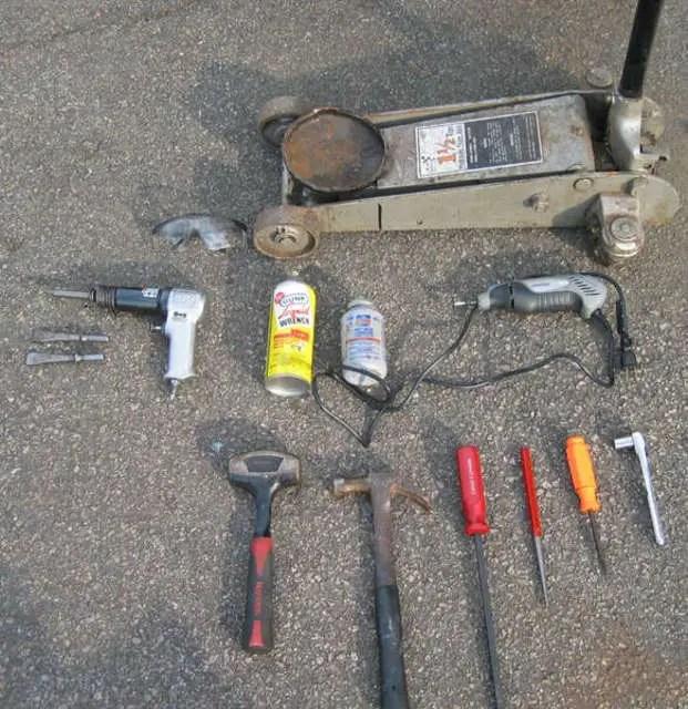 How To Replace Garage Door Hinges Repair Guide