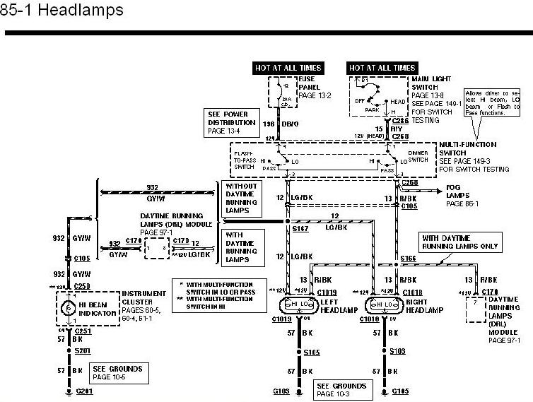 mazda rx 8 headlight diagram
