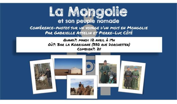 La Mongoli et son peuple nomade