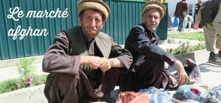 Le marché afghan de Khorog