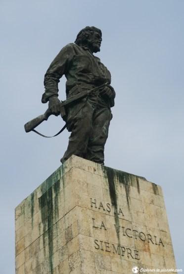 La statue de Che Guevara à Santa Clara.