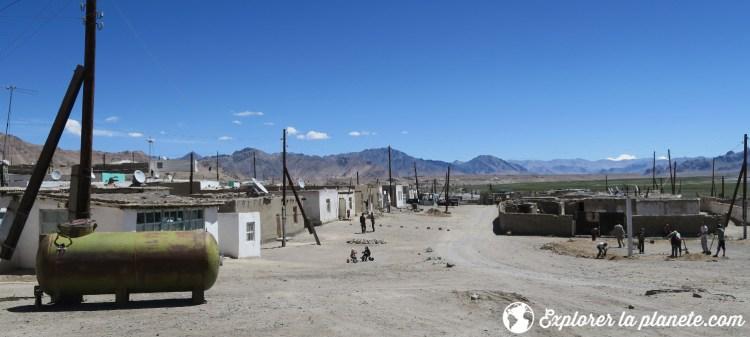 Village de Murghab dans le Pamir, Tadjikistan.