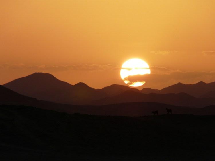 Coucher de soleil à Marsa Alam en Egypte destinations en dehors des sentiers battus