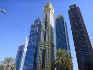 Photo from ExplorerLink of Dubai buildings