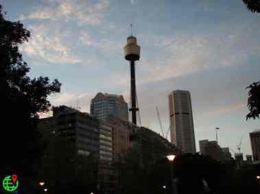 View of Downtown Sydney, Australia