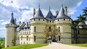 Château de Chaumont-sur-Loire castle entrance France