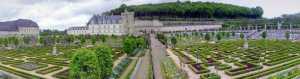 Château de Villandry castle pano France