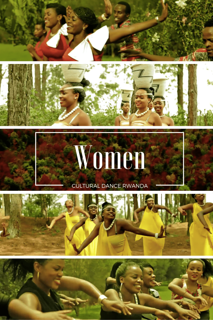Rwandese Cultural Dance: The role of the woman