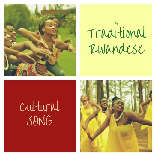 Dancers of a traditional Rwandese song