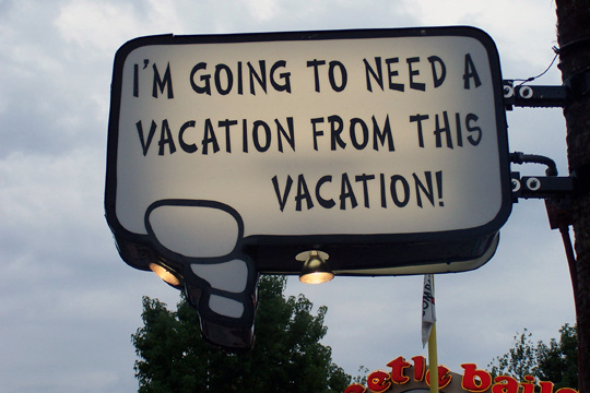 Want More Fun And Less Stress On Vacation Dont Overplan