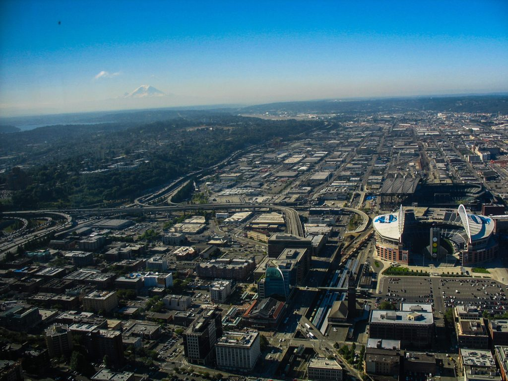 Columbia Center Seattle view