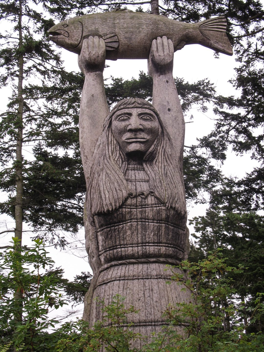 Kwuh-kwal-uhl-wut, the Maiden of Deception Pass