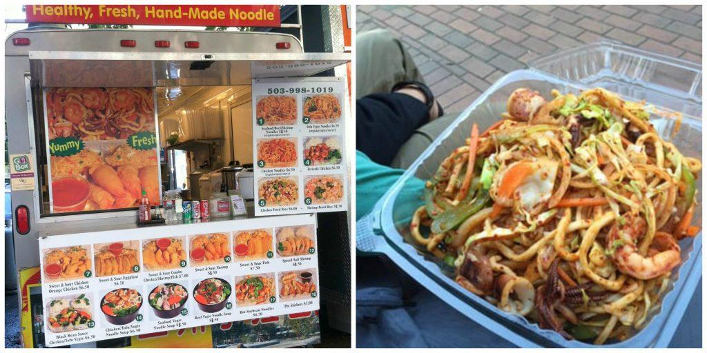 Noodle House Foot Cart Portland