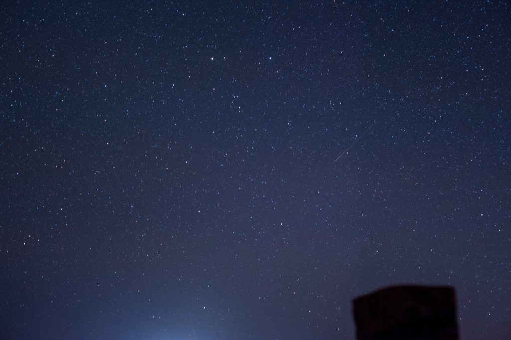 High Desert Oregon Night Sky