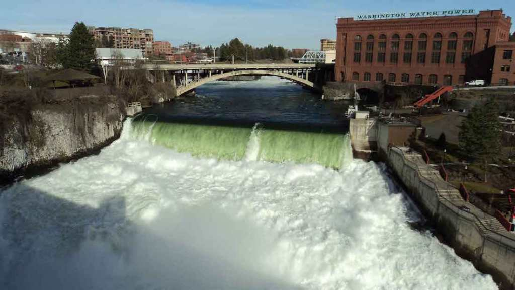 Spokane Waterfall