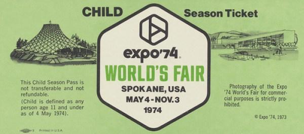 '74 Worlds Fair Spokane