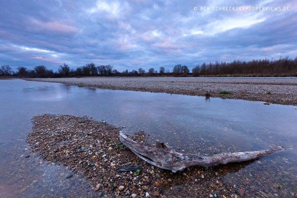 Fluss Allier Frankreich