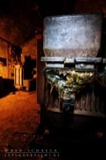 power switch in a bunker