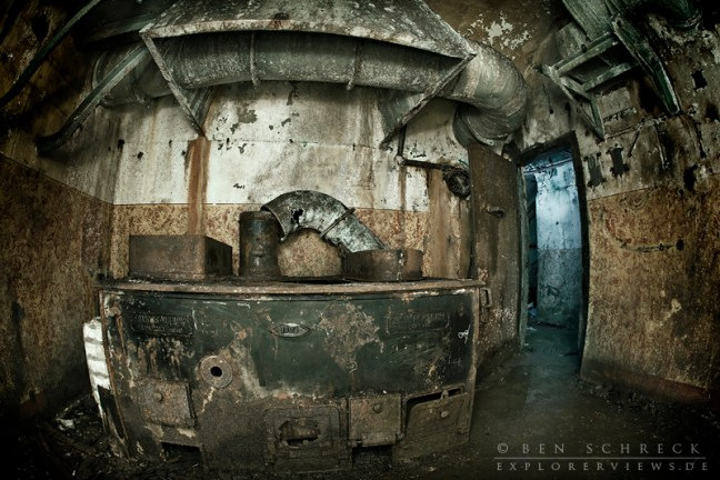 kitchen of a Maginot Line bunker