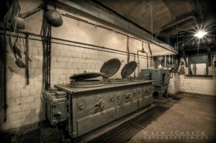 Küche im Artilleriewerkt Galgenberg
