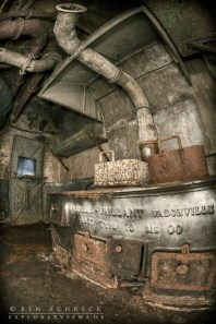kitchen in a maginot ouvrage