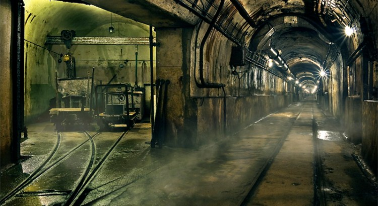 Metro in a Bunker of the Maginot Line