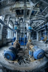 Urban Decay Photography in a production hall