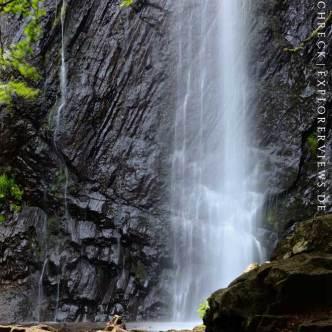 Wasserfall Zentralmassiv Cascade du Queureuilh 2651