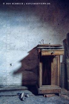 Verlassene Orte Schatten Zimmer