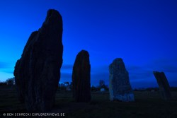 Menhire St Just Menhir Megalith Glossar
