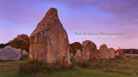 Menhir Carnac Bretagne