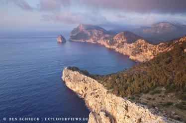 Formentor Felsen auf Mallorca