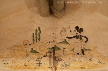 Mickey Mouse Maginot Line-Petit Ouvrage Bois de Bousse