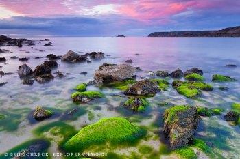Bretonische Küste Farben der Natur