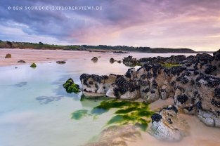 Brittany coast in colors
