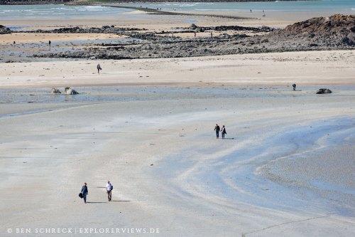 Strand Abstrakt Hebihens