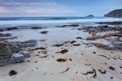 Wilder Strand Bretagne
