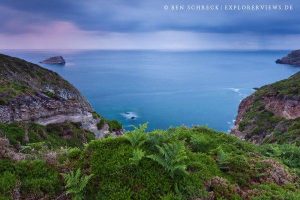Bretagne wilde Küste