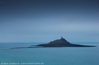 Insel Michel im Nebel