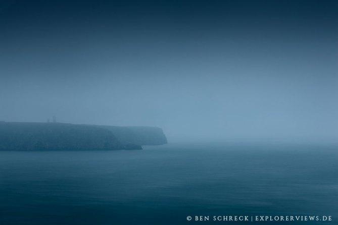 Cap Frehel im Herbst Nebel 0395