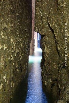 Grotte Cap Frehel Durchblick