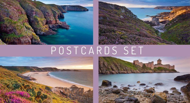 Postcards Set Bretagne