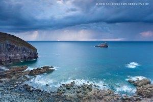 Unwetter Bretagne Cap Frehel 4371